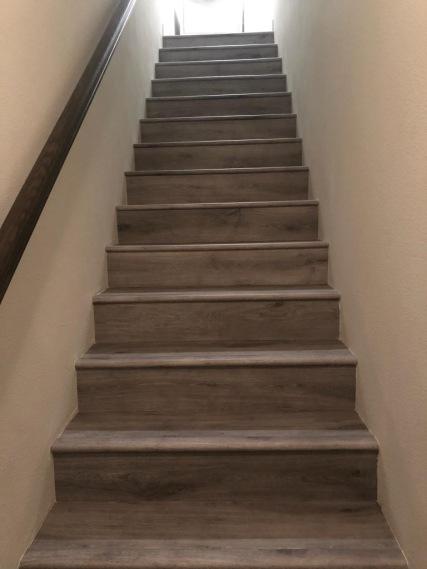 After - LVP Flooring